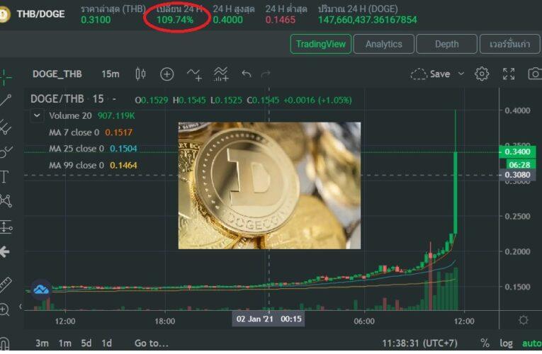 หมาบิน !!!!!  ทำ NEWHIHGT  Digital Cryptro