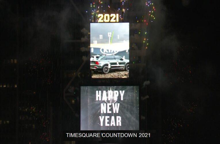TIMESQUARE  COUNTDOWN 2021